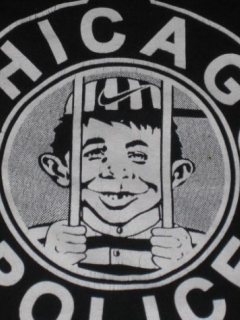 "Go to T-Shirt ""Our Bars Never Close"" with Alfred E. Neuman • USA"