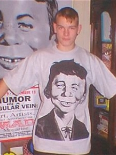 Go to T-Shirt Alfred E. Neuman Portrait (Cotton Printed) • Australia