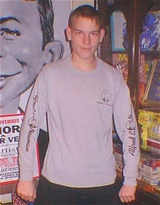 T-Shirt Shaved Alfred E. Neuman Long Sleeve 'Original' • USA