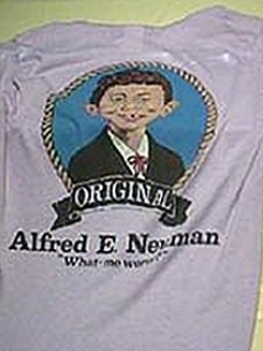 Go to T-Shirt Shaved Alfred E. Neuman Short Sleeve 'Original' • USA