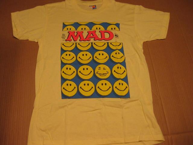 T-Shirt Alfred E. Neuman Smiley Face Sun Sportswear • USA