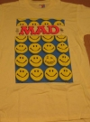 Image of T-Shirt Alfred E. Neuman Smiley Face Sun Sportswear