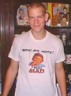Image of T-Shirt Alfred E. Neuman MAD