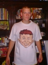 Image of T-Shirt 'Alfred E. Neuman Buzz Cut'