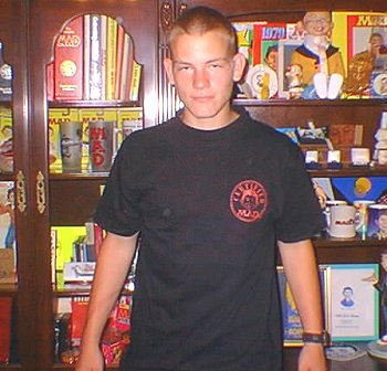 T-Shirt 'Alfred E. Neuman the Biker' • USA