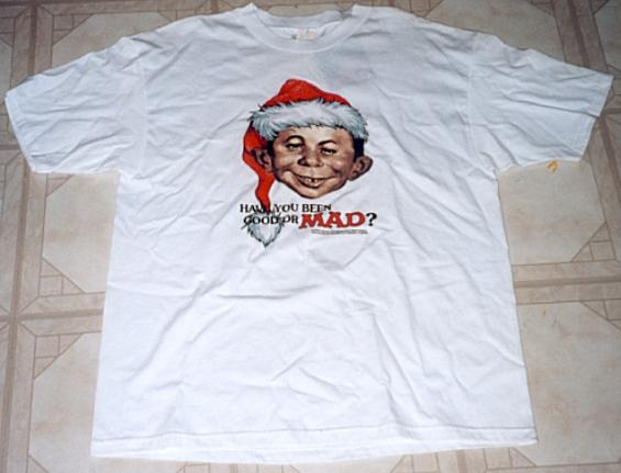 T-Shirt 'Alfred E. Neuman as Santa Clause' • USA