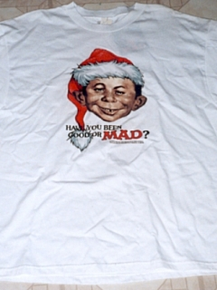 Go to T-Shirt 'Alfred E. Neuman as Santa Clause' • USA