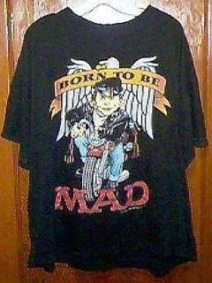 Go to T-Shirt 'Born to be MAD' • USA