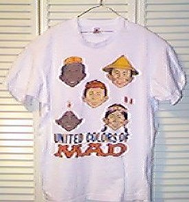 T-Shirt 'The Colors of MAD' • USA