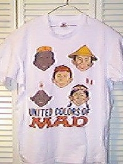 Go to T-Shirt 'The Colors of MAD' • USA