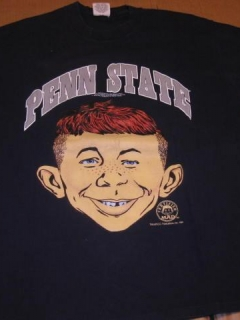 Go to University T-Shirt 'Penn State University' with Alfred E. Neuman • USA