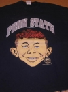 Image of University T-Shirt 'Penn State University' with Alfred E. Neuman