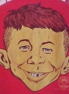 "Image of MAD / Alfred E. Neuman ""Ohio State"" T-Shirt"