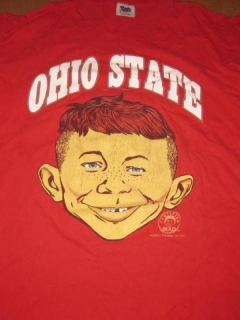 Go to University T-Shirt 'Ohio State University' with Alfred E. Neuman