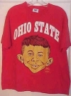 """Image of MAD / Alfred E. Neuman """"Ohio State"""" T-Shirt"""