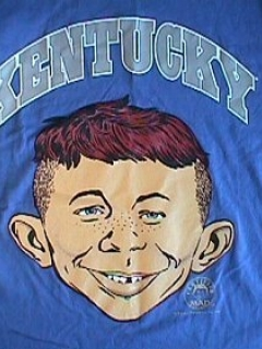 Go to University T-Shirt 'University of Kentucky' with Alfred E. Neuman