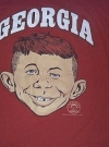 Image of University T-Shirt 'Georgia University' with Alfred E. Neuman