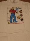 Image of Muffler Men T-Shirt w/ Alfred E. Neuman (Half-Wit) - Roadside America
