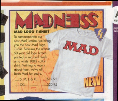 T-Shirt MAD Logo • USA