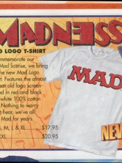Go to T-Shirt MAD Logo • USA