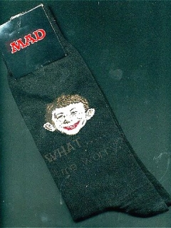 Go to Socks MAD Magazine #1