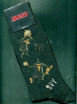 Socks MAD Magazine #6 (Spy vs Spy) • USA