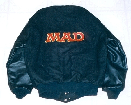 Jacket MAD Staff, blue • USA