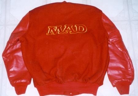Jacket MAD Staff, red • USA
