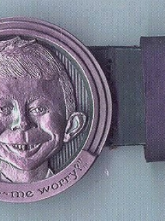 Go to Belt and Buckle Alfred E. Neuman (Warner Store)