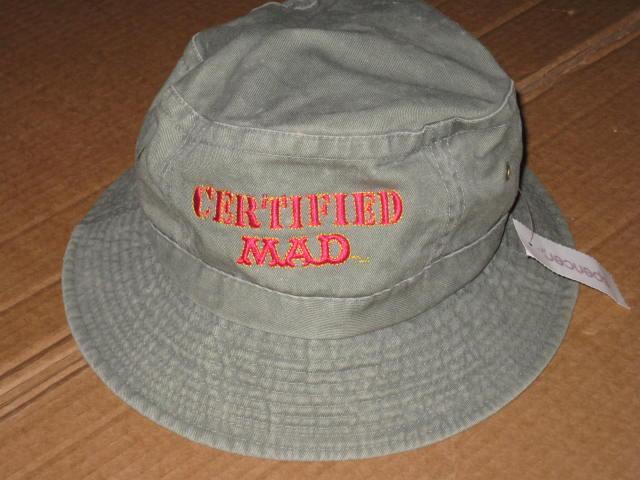 Bucket Hat 'Certified MAD' Denim • USA