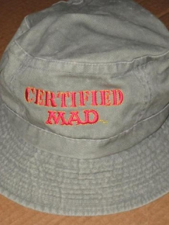 Go to Bucket Hat 'Certified MAD' Denim