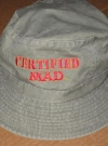 Image of Bucket Hat 'Certified MAD' Denim