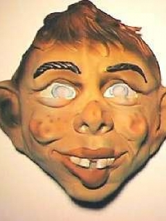 Mask Latex Alfred E. Neuman