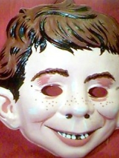 Go to Mask Halloween Alfred E. Neuman