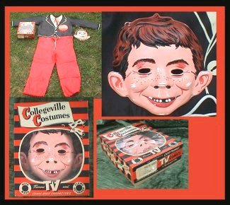 Costume Alfred E. Neuman Halloween Collegeville • USA