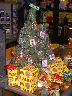 Christmas Tree MAD Magazine