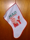 Image of Christmas Stocking MAD Magazine
