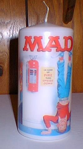 Candle MAD Magazine • USA