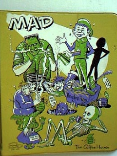 Go to Notebook Binder Unauthorized MAD (Green Version) • USA