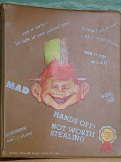 Go to Notebook Binder Unauthorized MAD #3 • USA