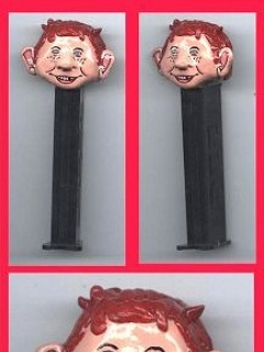 Go to PEZ Dispensers Alfred E. Neuman and Spy vs Spy #2