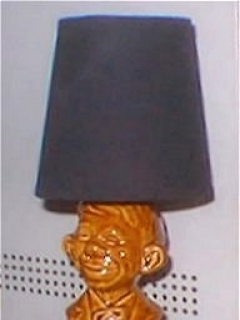 Go to Bust Lamp Alfred E. Neuman • USA