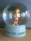 Image of Snow Globe with Alfred E. Neuman