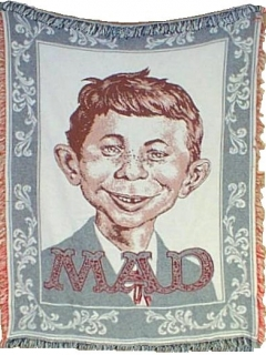 Go to Throw Blanket MAD Magazine • USA