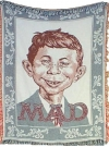 Image of Throw Blanket MAD Magazine