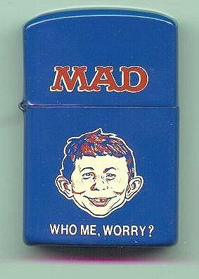 Pocket Lighter MAD Magazine • USA