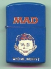 Image of Pocket Lighter MAD Magazine