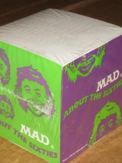 Go to MAD About The Sixties Promotional Post-It Note Cube • USA