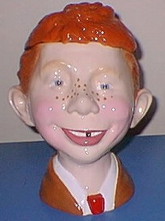 Go to Cookie Jar Alfred E. Neuman 10' • USA