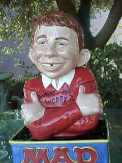Go to Cookie Jar Alfred E. Neuman 'Certified MAD' • USA